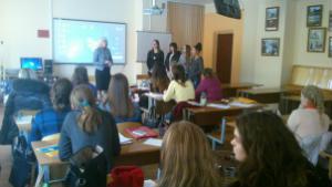 Презентация центра Семья и Я на педагогическом факультете